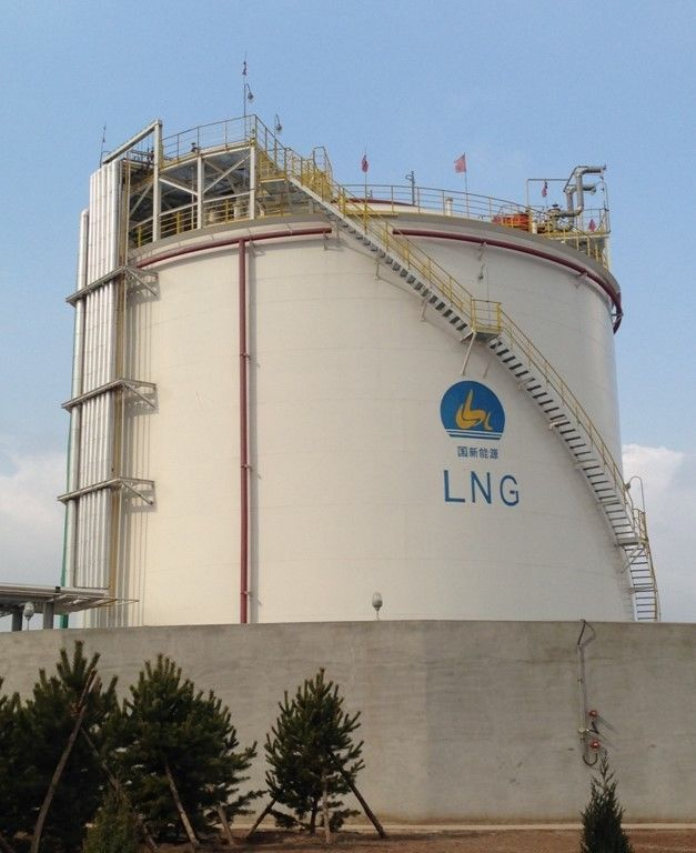 Professional Single Containment LNG Storage Tank 16500mm Liquid Level